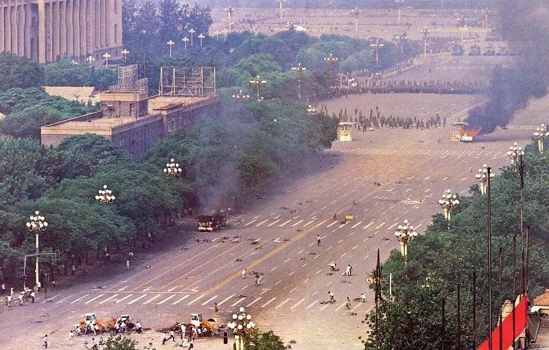 8964/六四事件中的戒严部队被杀真相 出人意外