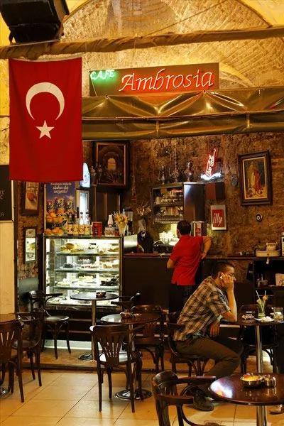 土耳其咖啡以奇特的味道聞名於世