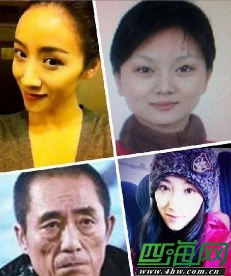 张艺谋妻子陈婷照片曝光张艺谋比新岳母大九岁是七个孩子的爹