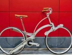 意发明家设计便携自行车:折叠后体积相当雨伞(组图)