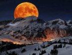 难得一见 世界上最美的月亮(组图)
