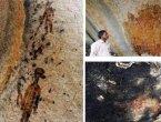 万年洞壁上竟画了光剑、幽浮、太空衣 (图)