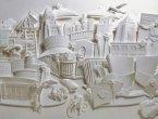 不可想像 超神奇的3D纸雕艺术 组图