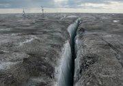 格陵蘭島上的冰 已經黑的無法形容了 組圖