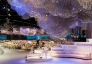 杜拜公主超奢华婚礼…6.5万颗水晶打造梦幻场景(组图)