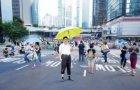 王大雷:习总到达雨伞革命现场  多图