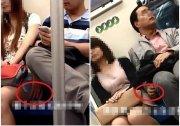 資深上海地鐵淫狼 去年就摸女孩大腿今年還在摸 圖