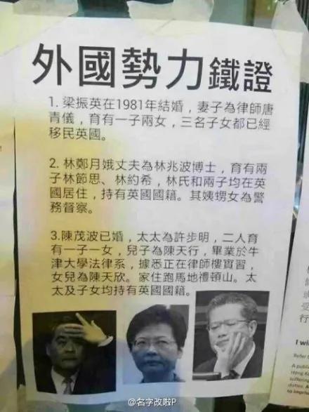 一群外國勢力要染指中國內政的鐵證  圖
