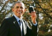 奧巴馬命專機折返取手機 成黑莓免費廣告 圖