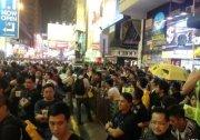 重占旺角/占中的那些人 数千人清场后又回来了 24图