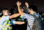 目睹港警施暴 警官震惊辞职 加入占中抗议 图