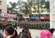 深圳千人罷工十天被數百軍警鎮壓 場面震撼似打仗 組圖