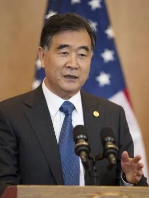 中共国务院副总理汪洋17日在美国表示,引领世界的是美国,中国没有想法、也没有能力挑战美国地位。(路透)