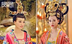 韦妃、杨妃的头套重达20斤,让人抓狂