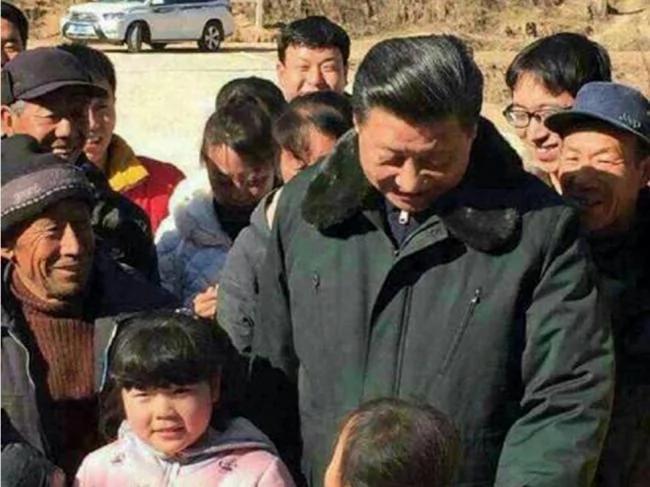 习近平女儿首次与父母一起公开露面(图)