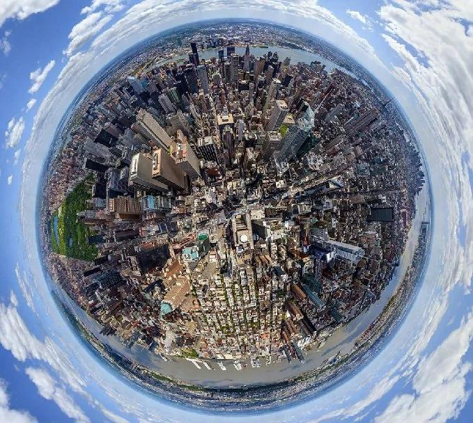 3D城市全景图