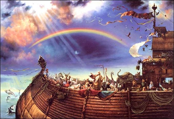 大洪水远古祖先的共同回忆 图