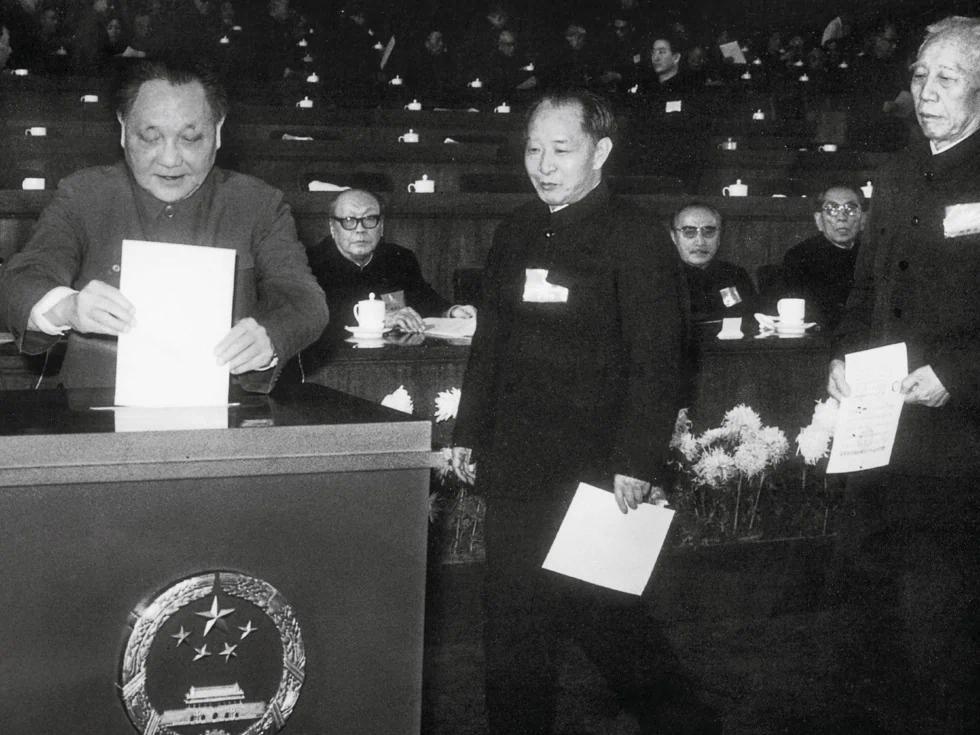 目無鄧小平 架空李瑞環 王震掌控中共左派 (圖)