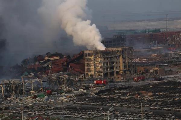 """公安部:爆炸事故消防部队""""处置程序是科学的"""""""