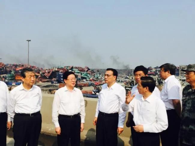 爆炸发生后 天津最高领导人都干了啥 图