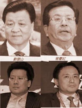 传刘云山曾庆红之子等320名官二代被内控 图