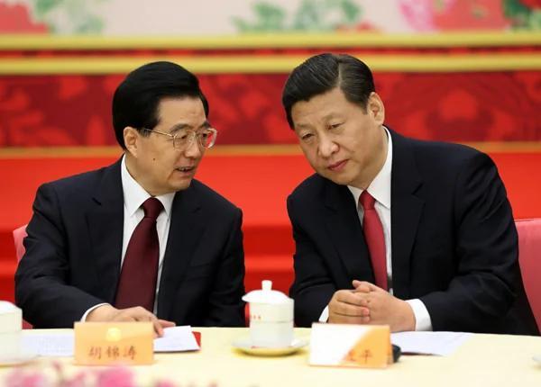 外媒:胡锦涛科学发展观或与习思想一起入宪