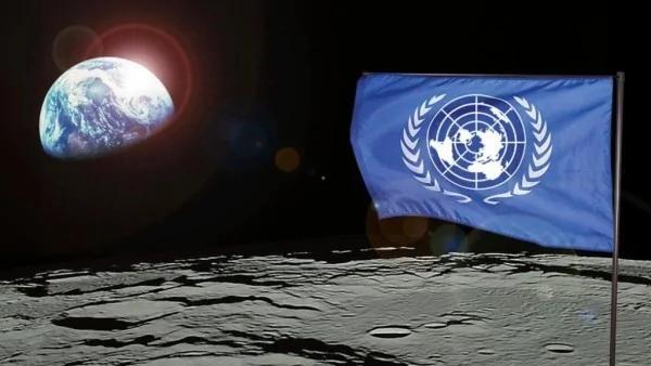 太空國際國旗