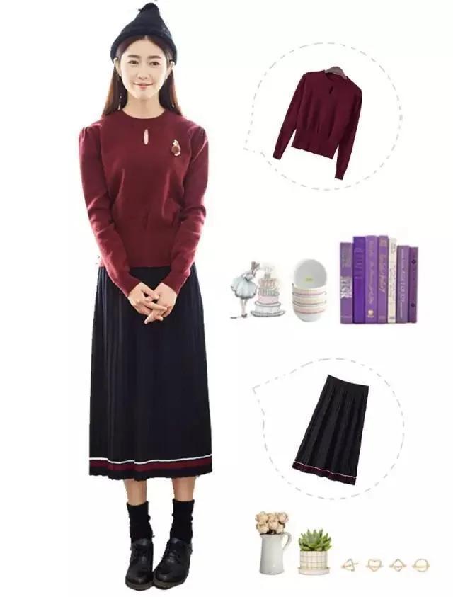 女人,你只要有這四款裙子就可以搭配一年四季!