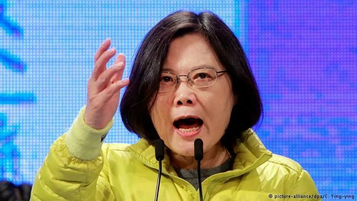 Taiwan Präsidentschaftswahlen Tsai Ing-wen