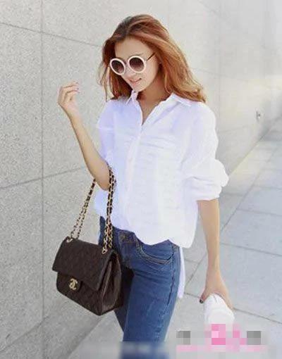 夏天到了,衣櫥里怎麼能沒有一件白襯衣呢!