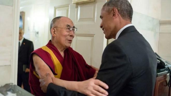 """王毅与克里通话谈及西藏 克里称不支持""""西藏独立"""" 图"""