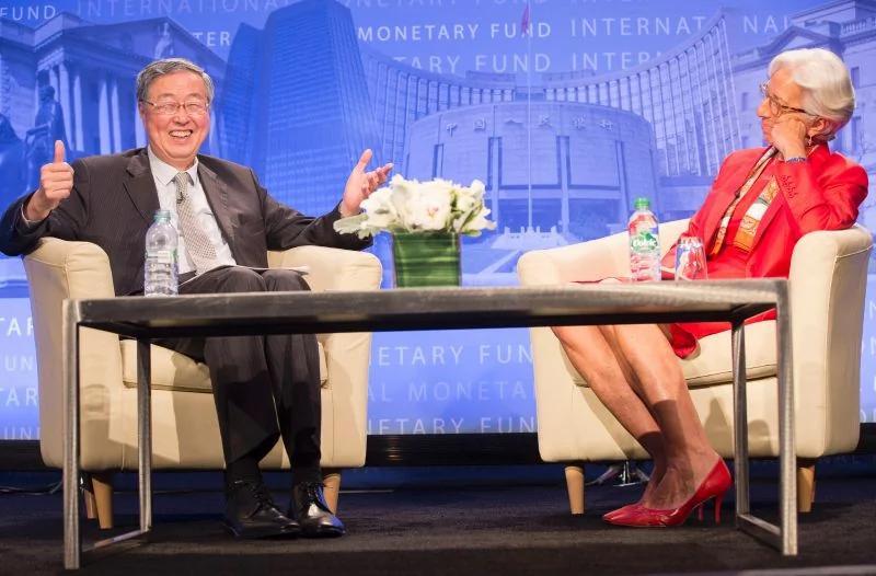 周小川对话拉加德 中国货币和汇率政策最清晰的阐述 图