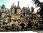 法国邮递员33年上班路收集石头建起一座宫殿(组图)