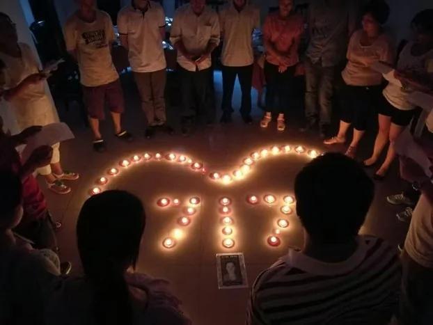劳工界纪念女工周建容自杀事件两周年 呼吁关注中国劳工权益 组图