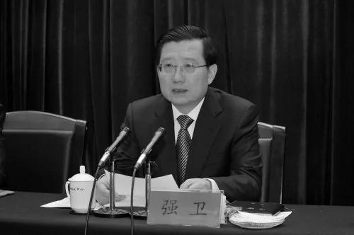 """港媒:强卫提拔张越 """"北京梦""""因王岐山和萨斯破灭 图"""