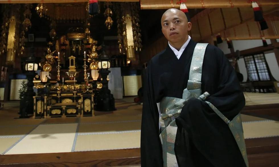 日本僧人出征巴西奥运 迫于生计当了和尚(组图)