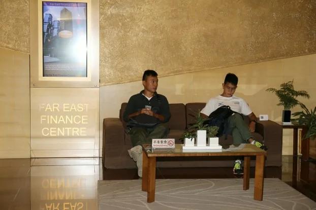 一名朝鲜学生闯馆 进入韩国驻香港领事馆 组图