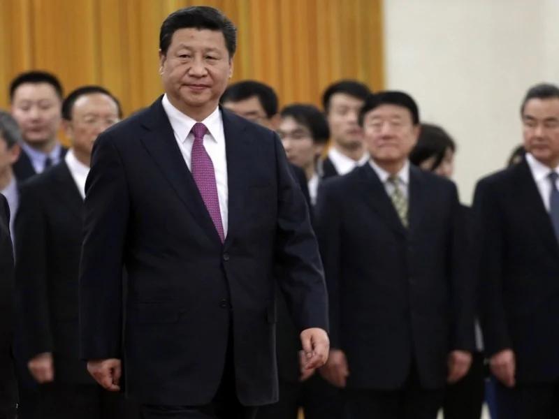 """江系独家:政治局人人过关 逐个表态拥护""""习核心"""" 组图"""