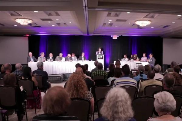 加拿大公眾UFO揭密聽證會。(視頻截圖)