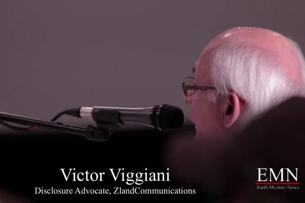 UFO研究調查團的負責人維克多·維簡尼聽證會上大膽披露政府隱藏信息。(視頻截圖)