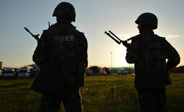 江的〝私家军〞被清洗 武警重新站队 向习近平表忠(图)