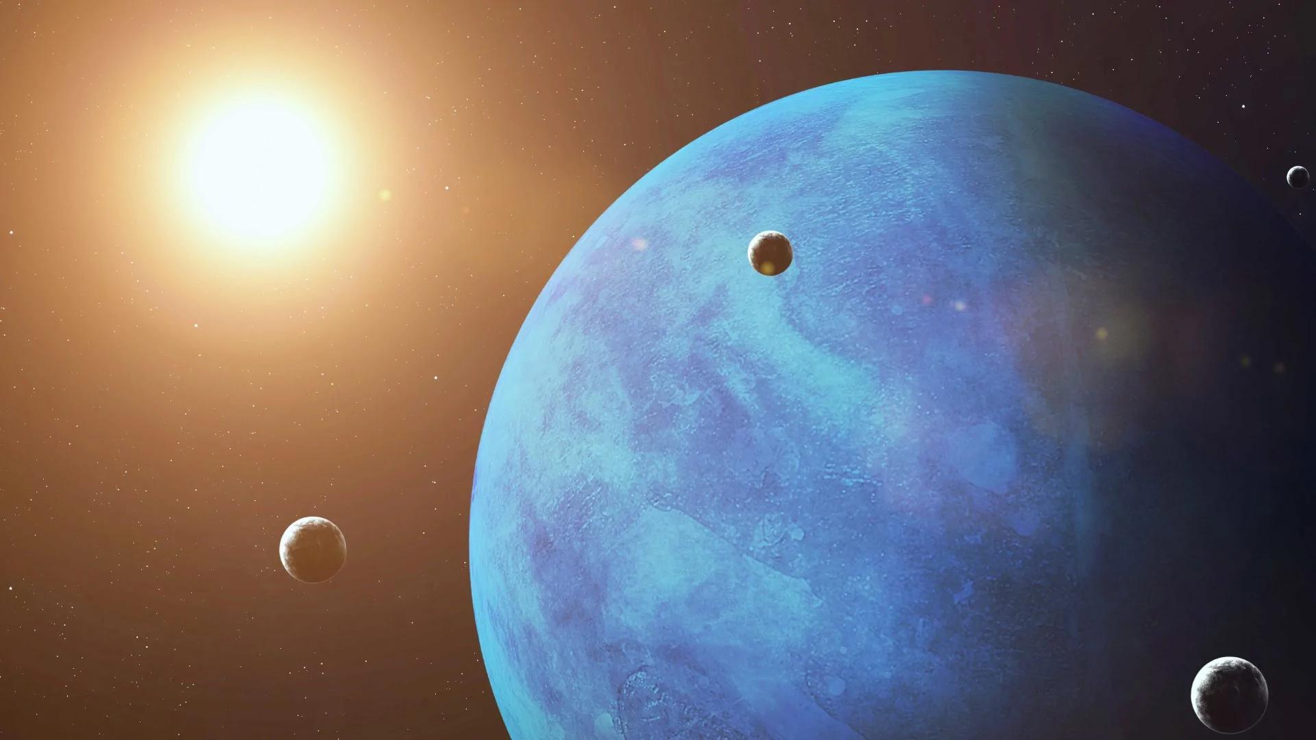 海王星外围怪异轨道的神秘天体 让天文学家也傻了 组图