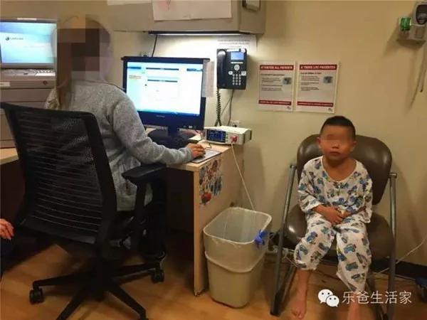 中国孩子在美国手臂脱臼 花1700 美元
