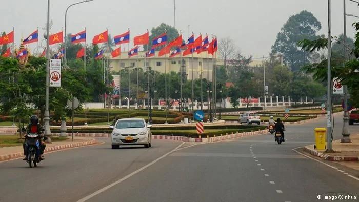 奥巴马同中国争夺老挝胜算有几成? 图