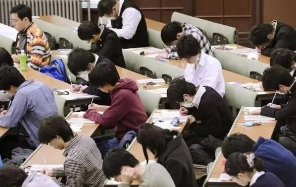 Kết quả hình ảnh cho japanese high school entrance exam