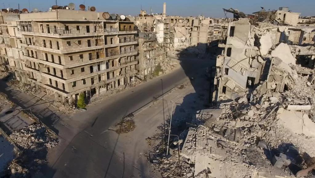 专家指俄罗斯在叙利亚进行全面战争 图