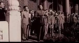 """江泽民审定《开国大典》 毛泽东父子""""民主""""对话被删 图"""