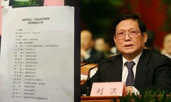 网曝前北京书记刘淇公费出游 或进入中纪委法眼 组图