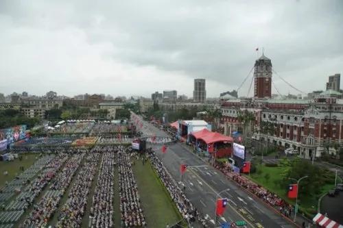 中華民國雙十國慶典禮全程回放 辣妹戰鼓齊上陣 視頻/組圖
