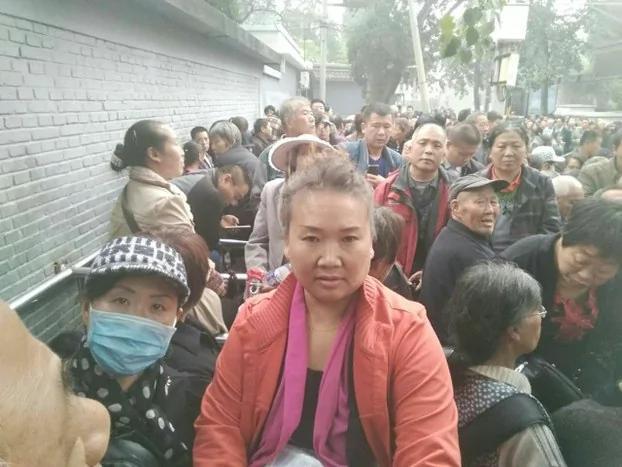 中国29省市逾万名民办教师 再掀全国集体上访潮 组图
